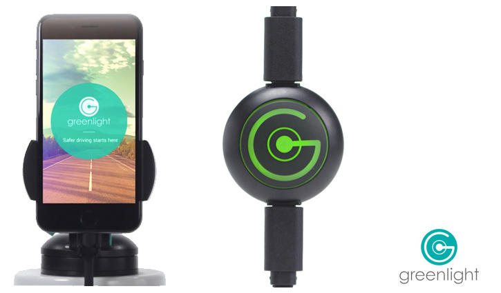 """The simple """"plug-n-play"""" aspects of Greenlight are what makes it so useful. Dock your phone, get prompted...one click...operational. Dead simple. Further, the inline button on the charging cord allows for quick video grabs. Image Courtesy: Greenlight"""